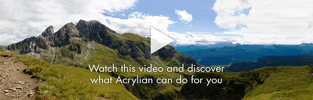 Watch this video and discover what Acrylian can do for you