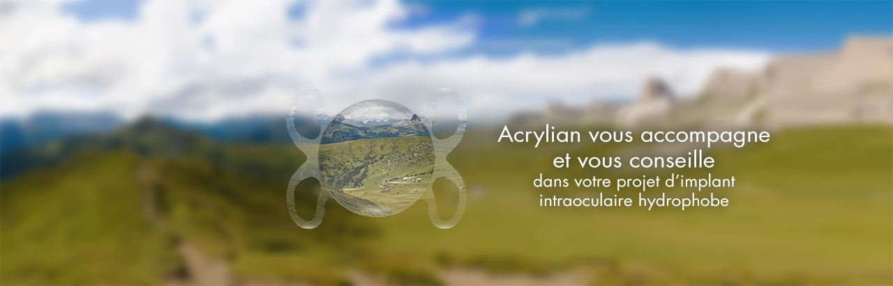 Acrylian vous accompagne